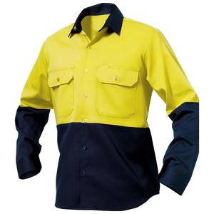 Long Sleeves Cotton Drill Work Shirts/ Custom Workwear & Uniform