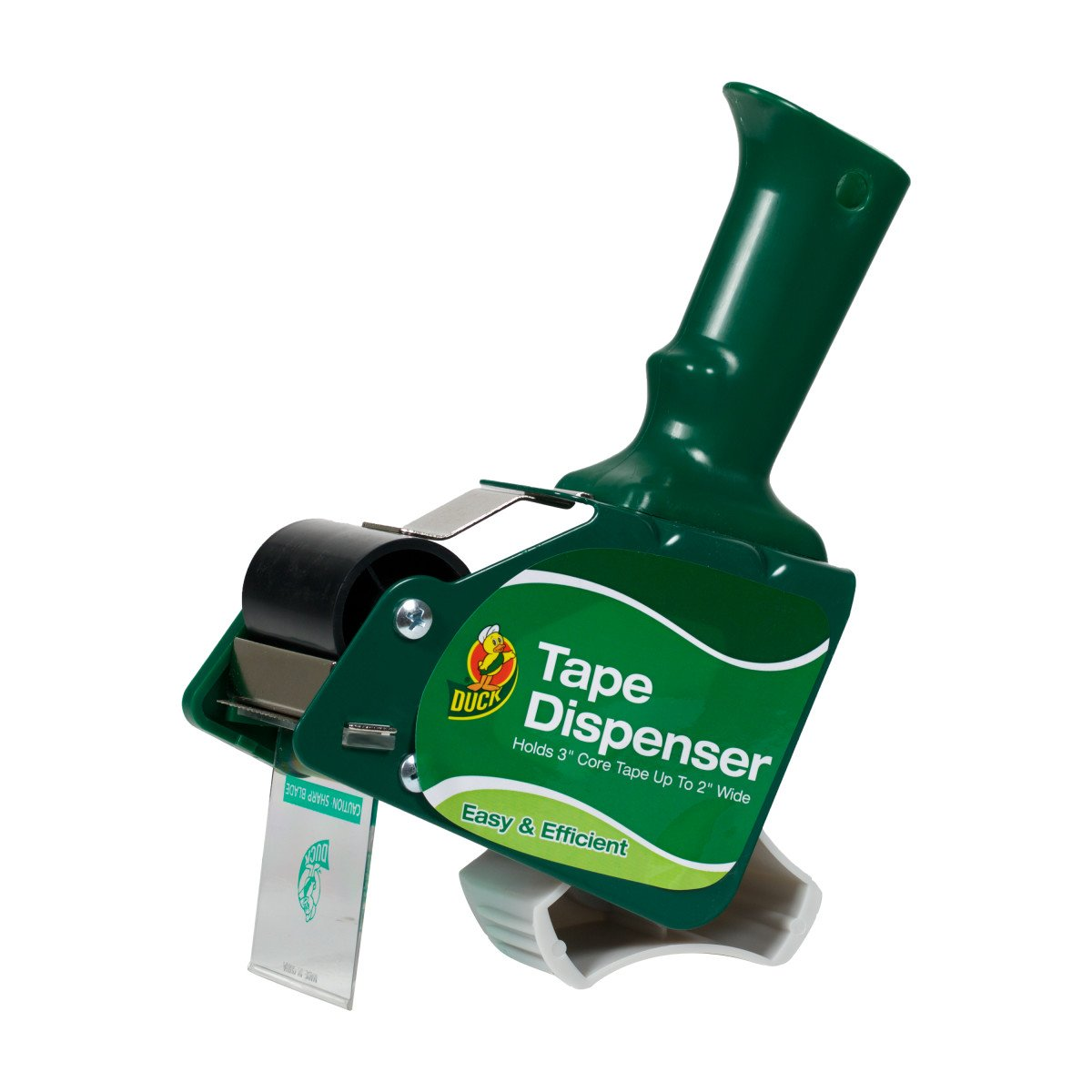 Duck Brand Standard Tape Gun Dispenser For Packing Tape Rolls Up To 2 Inch Wide (394600)