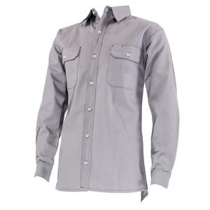 High Quality Hi Vis Long Sleeve Drill Work Shirt FR Shirt