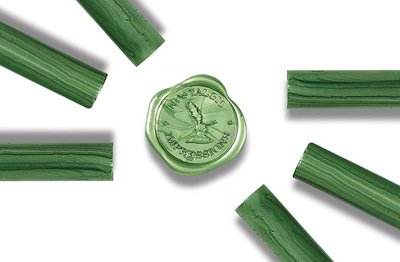 Glue Gun Sealing Wax - Emerald Green - Pack of 6