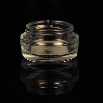 30ml glass jars with child proof PP lid