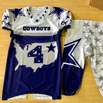 Custom Youth Sublimation American Football Uniforms American football Jerseys American football Pants