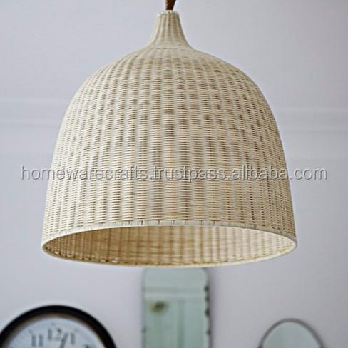 Natural Rattan Pendant Lighting