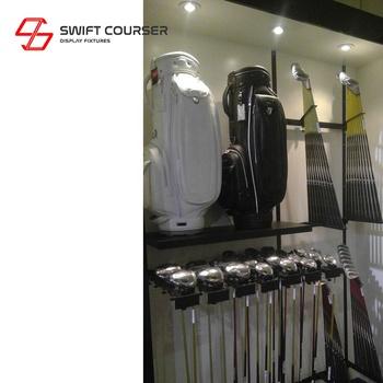 Swift High Quality Golf Club Retail Shop Display - Buy Metal Retail Store  Golf Club Bag Display Stand,Custom High Quality Garment Shop Window