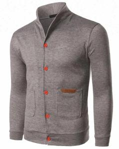 Men's Long Sleeve Fashion slim cardigan knitwear O-neck Sweater sell product Bangladesh