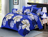 100% Cotton Feel Polyester Printed Fitted Sheet Bedding-set