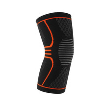 2018 Hot selling 1 paar 3D ademend sport compressie knie mouw