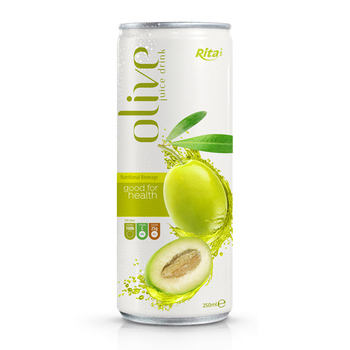 250ml Canned New Product High Quality Olive Juice Drink