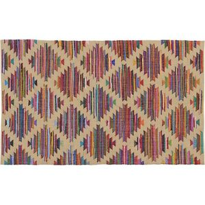 100% cotton indian dhurrie rug