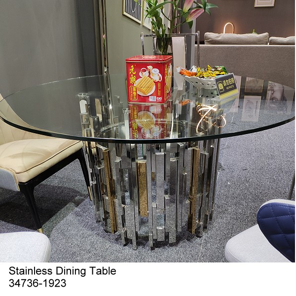 Hot sale Stainless Steel Coffee Table  set 34736-19116A/B