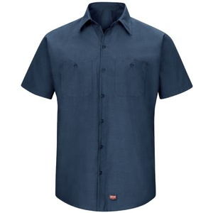 LATEST RED KAP MEN'S SHORT SLEEVE WORK SHIRT