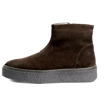 2475cc62a50 Ladies Brown Suede Leather Curling Boots On Tpr Sole - Buy Ladies ...