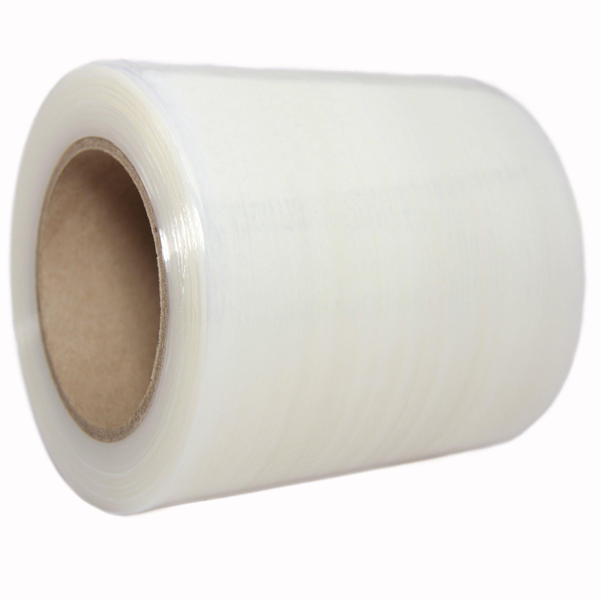 "TotalPack Shrink Mini Wrap: Stretch Film Plastic Wrap 1 Pack - Industrial Strength Hand Stretch Wrap, 5"" x 1,000 FT, 80 Gauge Shrink Film / Pallet Wrap"
