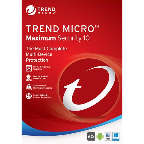 100% Genuine Licensed keys Trend Micro 2019 Maximum Security (3 year, 3 device)