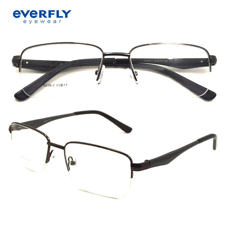 db60b1b07 الجملة جديد نموذج جديد مصمم الأزياء العصرية المعادن وصفة طبية البصرية  إطارات نظارات