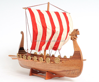 Drakkar Viking (L90) - Vietnam Handmade wooden ship model