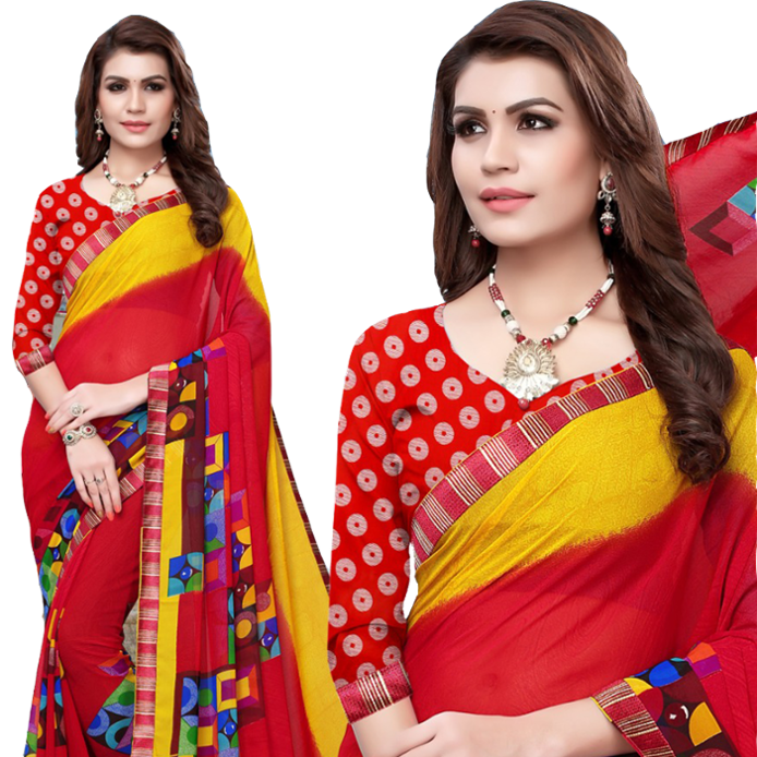 Exklusiver Fancy Saree