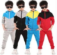Custom Sport wear Suits Spring Autumn Casual Kids Teens Toddler Clothes Tracksuits