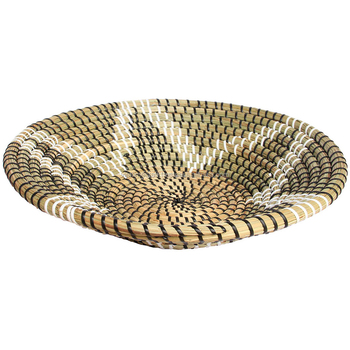 Seagrass Plate With Plastic String / Wall Hanging Vintage Home ...