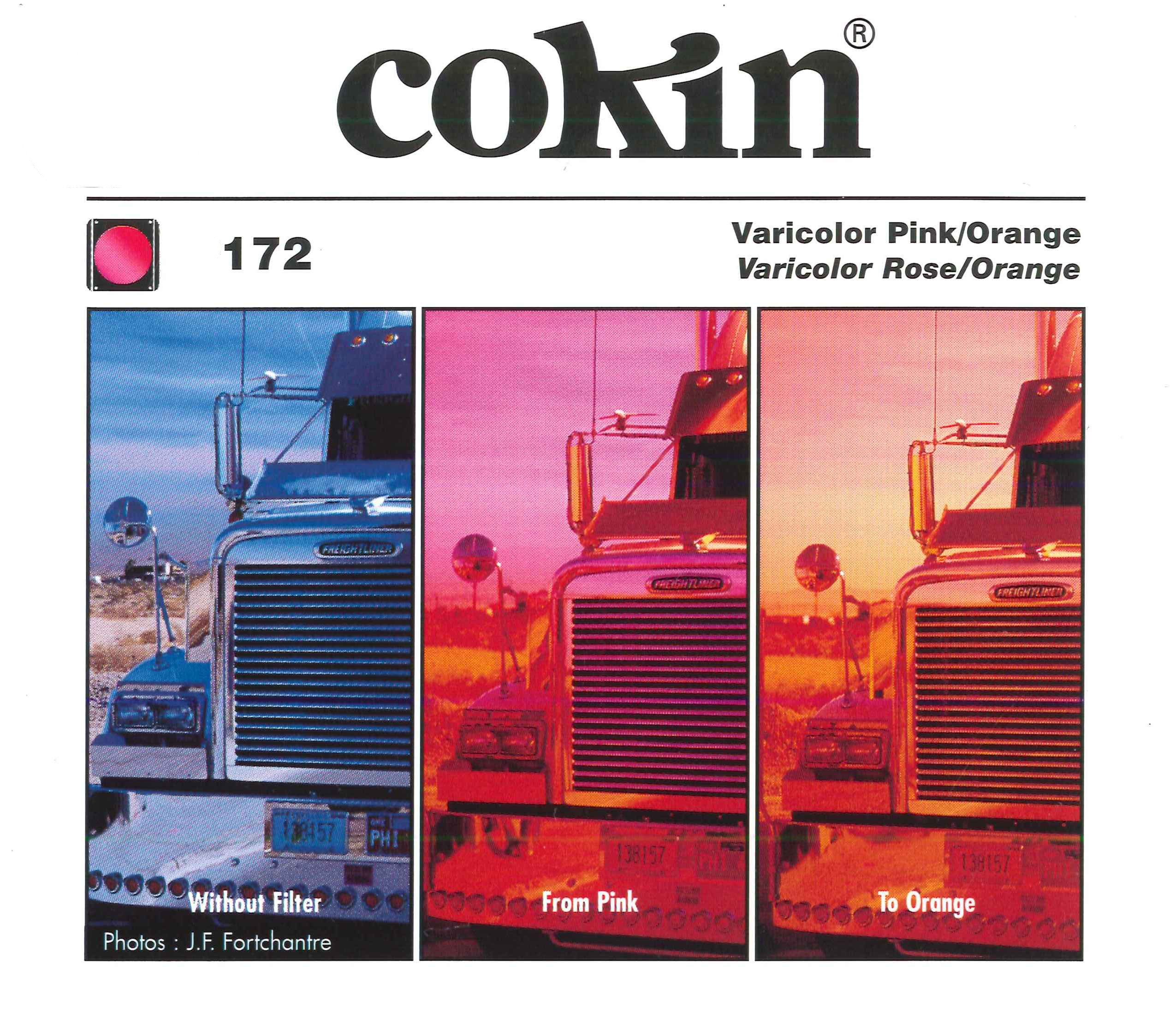 Cokin P172 Varicolor Filter with Protective Case (Pink/Orange)