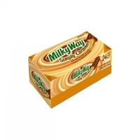 MILKY WAY Simply Caramel Milk Chocolate Singles Size Candy Bars