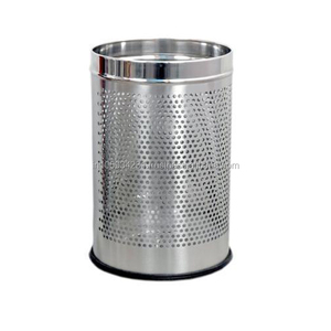 Stainless Steel Good Quality Round platformed trash bin for hotel ware use