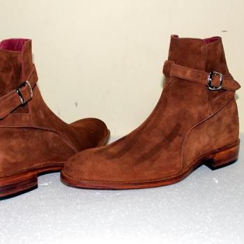 Handmade men jodhpur boots, Tan color