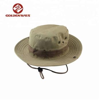 38d967bfaae New summer custom personal logo unisex funky safari fishing hiking bucket  hats