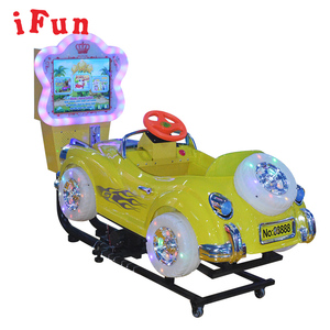 "Malaysia Coin Operated 17"" Video Games Bubble Car Kiddie Rides with MP5"