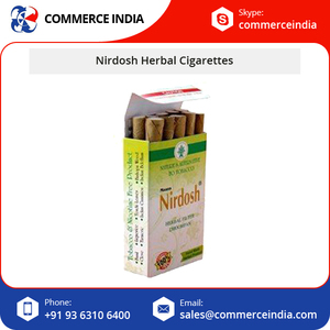 High Quality Nirdosh Herbal Cigarettes/Tobacco and Nicotine Free Cigarette