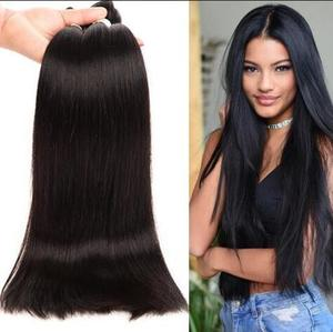 human hair extension bundle,silky brazilian straight hair,original brazilian human hair weft