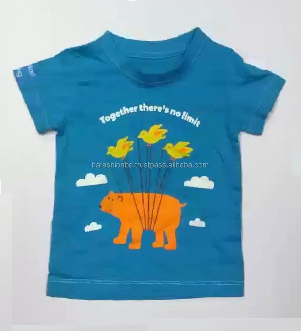 43f9d08d7 De moda ropa de niño Niño de manga corta Camiseta de bebé y los niños de