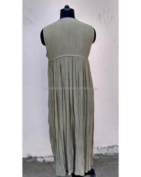 987d2c1bf1df 2018 Latest Fashion Plain Fabric Cotton New Party Wear Dress Best ...