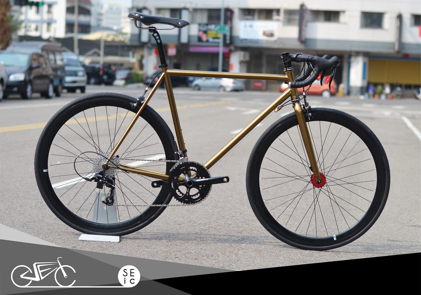 Taiwan 700C bicycle gear bike fixed gear style road bike