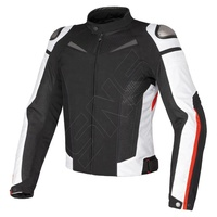 Black and white textile motorbike racing cordura jackets for men/New Colors Textile Cordura motorcycle men Tour adventure jacket