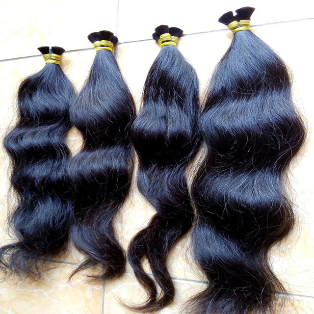 Hot Selling Remy Virgin Human Braiding Hair Bulk No Weft Weave Bundles High Quality Indian Hair