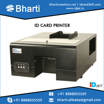 automatic plastic id card printer at economical price - Cheap Id Card Printer