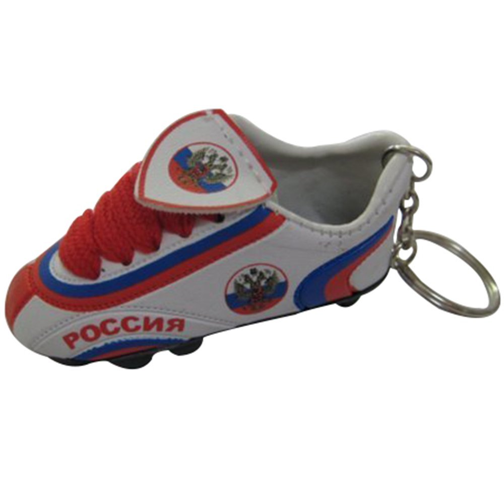 f918db531e3420 Get Quotations · Football Soccer Futbol Mini Shoe KeyChains KeyRings – Asia    Africa (Country  ...