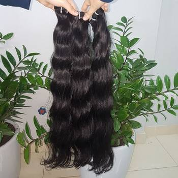 Silky soft real loose wavy hair 7A grade, cheap, high quality and good insurance policy