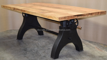 Tavolo Da Pranzo Industriale : Industriale manovella tavolo da pranzo doppio meccanismo ad