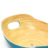 Handmade lacquer bamboo kitchen Utensils,