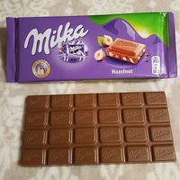 Milka Hazelnut 100gr Chocolate in Stock
