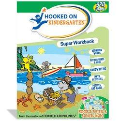 Hooked on Phonics: Hooked on Kindergarten Super Workbook