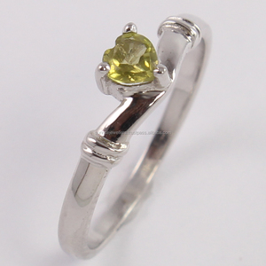 Semi Precious LEMON QUARTZ Gemstone 925 Sterling Silver Ring, Handmade Silver Jewelry, 925 Silver Ring For Beautiful Fingers