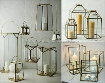Glass Candle Storage Lanterns Garden Decor Lanterns Decorative Home Lanterns Buy Home And Garden Decoration Lanterns For Candles Fireplace Metal