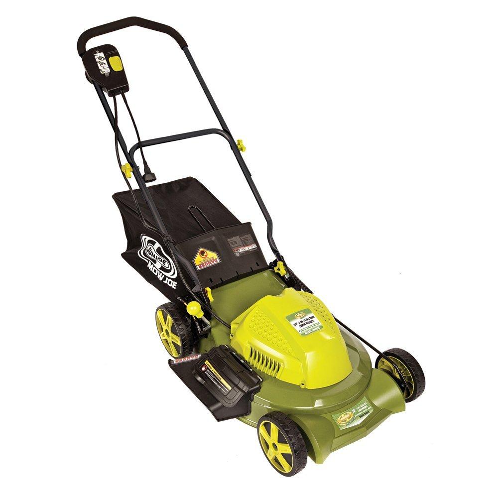 "Snow Joe Llc 20"" 3 In 1 Electric Lawn Mower (mj407e) -"