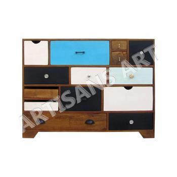Vintage Retro Meubels.Vintage Retro Multi Drawer Chest For Living Room Furniture Cabinet