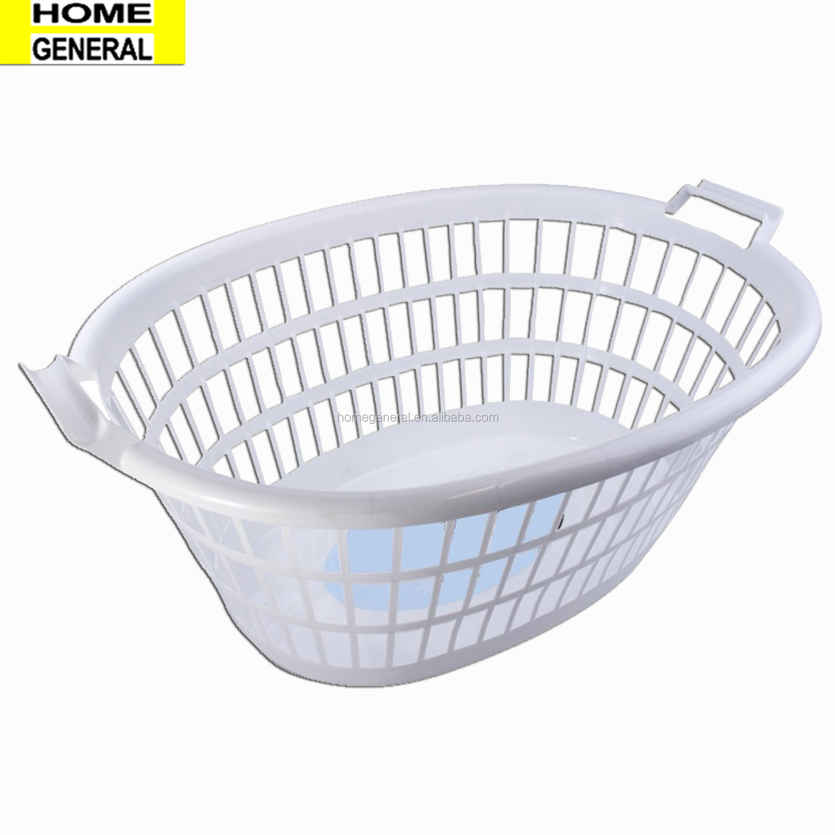 BASKET GENERAL OVAL LAUNDRY BASKET PLASTIC LAUNDRY BASKET