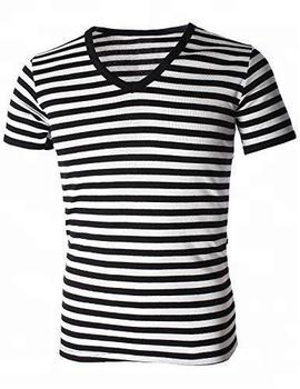 V-cuello Camiseta Para Hombres Con Estilo Personalizado - Buy ... bd46ff0be0923