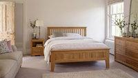 bedroom furniture/oak furniture/natural bedroom set